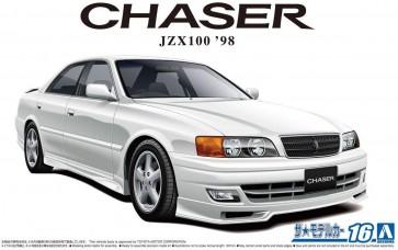 1/24 ザ・モデルカー No.16 トヨタ JZX100 チェイサーツアラーV 1998 アオシマ, AOS58596, by アオシマ