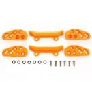 ミニ四駆 グレードアップパーツ フロントアンダーガード (オレンジ) [ミニ四駆特別企画] タミヤ, TAM55596, by タミヤ