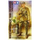 1/16 ワールドフィギュアシリーズ WWII ドイツアフリカ軍団 戦車兵 タミヤ, , by タミヤ