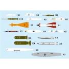 1/144 航空武装シリーズ 現用航空機用 ウェポンセット3 特殊兵装 '50~ プラッツ, PLZ78107, by プラッツ