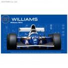1/20 グランプリシリーズ№24 ウィリアムズ FW16ルノー(サンマリノGP/ブラジルGP/パシフィックGP) フジミ, , by フジミ