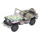 1/20 ガールズ&パンツァー アメリカ陸軍1/4トン 4x4トラック ファインモールド, , by ファインモールド
