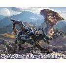1/24 ドラゴンと女戦士No.1グラゲロン&ハルセーヤ・SFファンタジー, , by マスターボックス