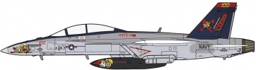 """1/72 F/A-18F スーパーホーネット""""VFA-11 レッドリッパーズCAG 2013"""" ハセガワ, HAS23857, by ハセガワ"""
