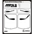 1/20 BEEMAXシリーズ マクラーレン MP4/2B用ディテールアップパーツ アオシマ, , by アオシマ