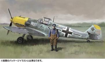 """1/48 メッサーシュミット Bf109E-4/N""""ガーランド""""w/フィギュア ハセガワ, HAS75009, by ハセガワ"""