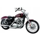 スカイネット 1/12 完成品バイク ハーレー ダビッドソン 2012 XL 1200V セブンティーツー レッド アオシマ, , by アオシマ