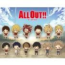 ラバーストラップコレクション ALL OUT!! 1BOX, , by コトブキヤ