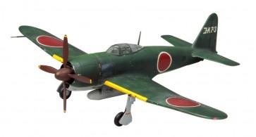 1/72 帝国海軍 局地戦闘機 烈風一一型 ファインモールド, FIN20355, by ファインモールド