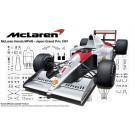 1/20 グランプリシリーズ№25 マクラーレン・ホンダ MP4/6(日本GP/サンマリノGP/ブラジルGP) フジミ, , by フジミ
