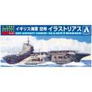 1/2000 ワールドネイビー 8 イギリス海軍 空母 イラストリアス アオシマ, , by アオシマ