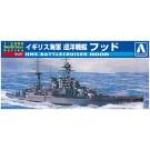 1/2000 ワールドネイビー 1 イギリス海軍 巡洋戦艦 フッド  アオシマ, , by アオシマ