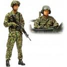 1/16 ワールドフィギュアシリーズ 陸上自衛隊 戦車乗員セット タミヤ, , by タミヤ