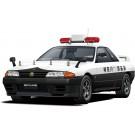 1/24 ザ・パトロールカー No.4 ニッサン BNR32 スカイラインGT-R パトロールカー '91 アオシマ, AOS62845, by アオシマ