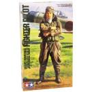 1/16 ワールドフィギュアシリーズ WWII 日本海軍 搭乗員 タミヤ, , by タミヤ