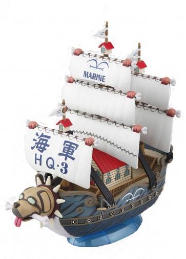 ワンピース偉大なる船(グランドシップ)コレクション08 ガープの軍艦, BAN36618, by バンダイ