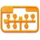 ミニ四駆 グレードアップパーツ 低摩擦プラベアリングセット (オレンジ) [ミニ四駆特別企画] タミヤ, TAM55602, by タミヤ