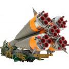 1/150 MODEROID プラスチックモデル ソユーズロケット+搬送列車(再販) グッドスマイルカンパニー, GSC50034, by グッドスマイルカンパニー