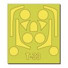 1/72 航空自衛隊 T-33用マスキングシート プラッツ, PLZ68191, by プラッツ