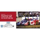 1/24 マクラーレン F1 GTR ロングテイル 1998 ルマン24時間 #40, , by アオシマ