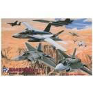 1/700 スカイウェーブシリーズ 現用米国軍用機セット 1 ピットロード, , by ピットロード