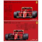 1/20 GPシリーズ フェラーリ641/2 (メキシコGP/フランスGP) フジミ, , by フジミ
