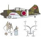1/48 航空機限定品 B-339 バッファロー 日本陸軍 w/整備情景セット1 (整備兵フィギュア&ナノ・アヴィエーションシートベルト+タミヤ製飛行機) ファインモールド, , by ファインモールド