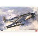 1/32 P-51D ムスタング w/ロケットチューブ ハセガワ, , by ハセガワ