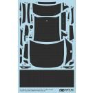1/24 ディテールアップパーツシリーズ トヨタ 86 ドレスアップデカールセット (カーボンパターン) タミヤ, , by タミヤ