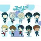 ラバーストラップコレクション ユーリ!!! on ICE 1BOX, , by コトブキヤ