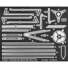 1/48 傑作機シリーズ ソードフィッシュ用 エッチング張線 タミヤ, , by タミヤ