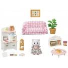 ペルシャネコちゃんの家具セット シルバニアファミリー   エポック, , by エポック