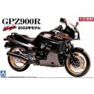 1/12 バイク 5 カワサキ GPZ 900R ニンジャ '02モデル(黒) アオシマ, , by アオシマ