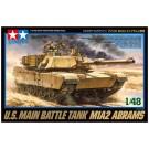 1/48 ミリタリーミニチュアシリーズ アメリカ M1A2 エイブラムス戦車 タミヤ, , by タミヤ