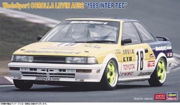 """1/24 ウェッズスポーツ カローラ レビン AE92""""1989 インターTEC"""" ハセガワ, HAS05314, by ハセガワ"""