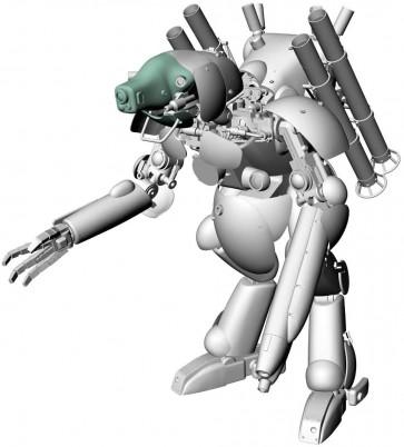 """1/20 ヒューマノイド型 無人邀撃機 グローサーフント""""ダックスフント"""" ハセガワ, HAS41204, by ハセガワ"""