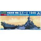 1/2000 ワールドネイビー 3 アメリカ海軍 戦艦 ミズーリ 1945  アオシマ, , by アオシマ