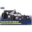 1/20 グランプリシリーズ No.17 ティレル P34 1977 日本GPロングホイールバージョン (#3 ロニー・ピーターソン/#4 パトリックデュパイエ) フジミ, , by フジミ