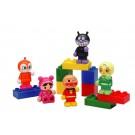 ブロックラボ ブロックといっしょに遊べる! アンパンマンブロックドールセット バンダイ, , by バンダイ